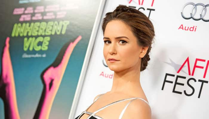 Katherine Waterston to play Steve Jobs' longtime girlfriend in biopic