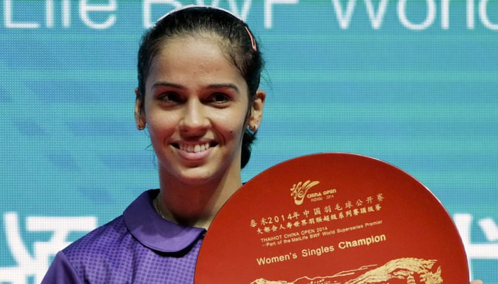 Looking to win more titles in 2015; coach kids: Saina Nehwal