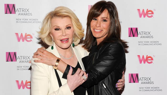 Melissa Rivers' wish to see her son laughing again
