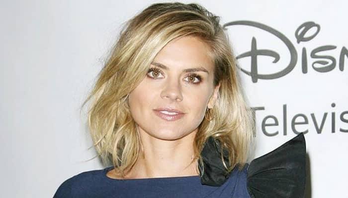 Eliza Coupe marries fiance Darin Olien