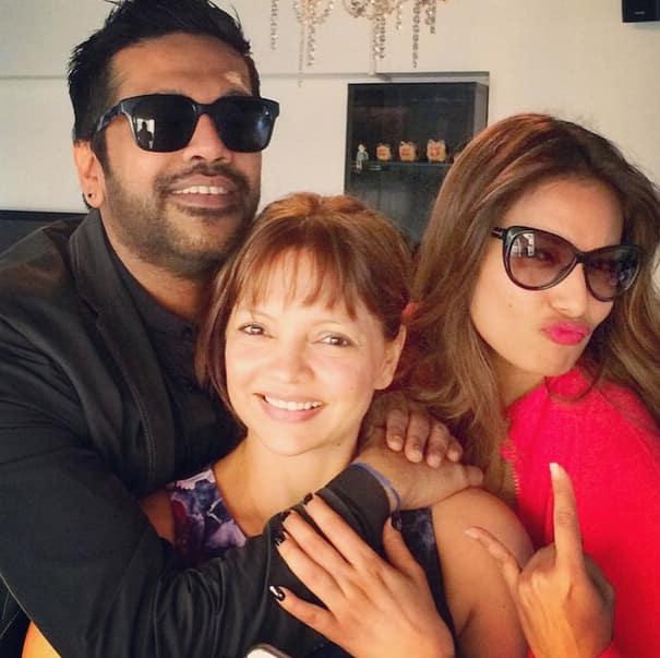 bipashabasu :- My life! @deannepanday and @rockystar100 ! Love you guys! - Instagram