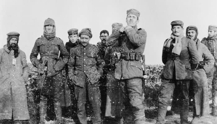 Centenary of Christmas truce remembered in poetry