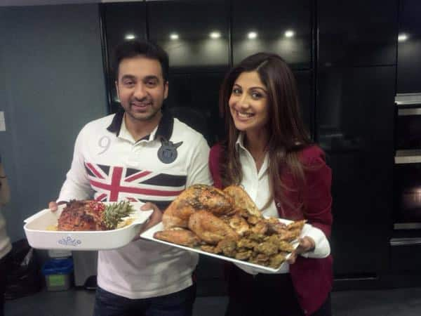 SHILPA SHETTY ‏:- Did the turkey , gammon ,stuffing with yorkshires and the  works ! Thank god fr   Jamie Oliver's tips;)  - TWITTER