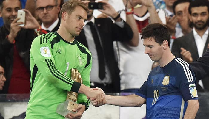 Manuel Neuer cautious over Ballon d`Or prospects