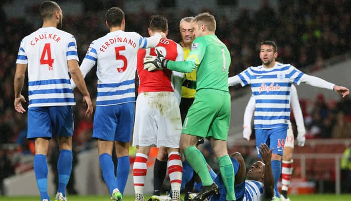 Olivier Giroud deserved a red card: Arsene Wenger