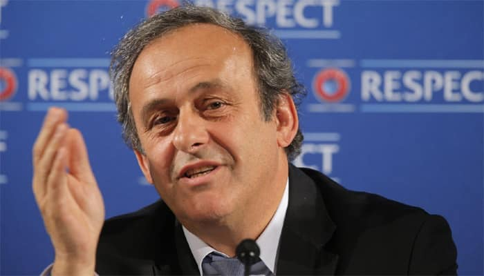 Michel Platini pushes `white card` idea again