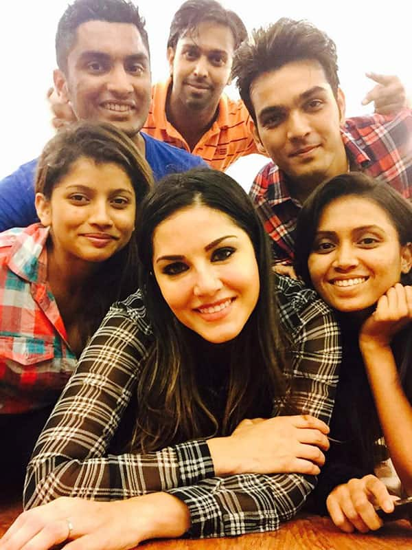 Sunny Leone :- Last dance rehearsal for the year in studio!! Next stop will be the stage for NY2015 -twitter