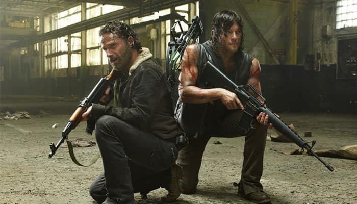 'The Walking Dead' most-tweeted TV series for 2014