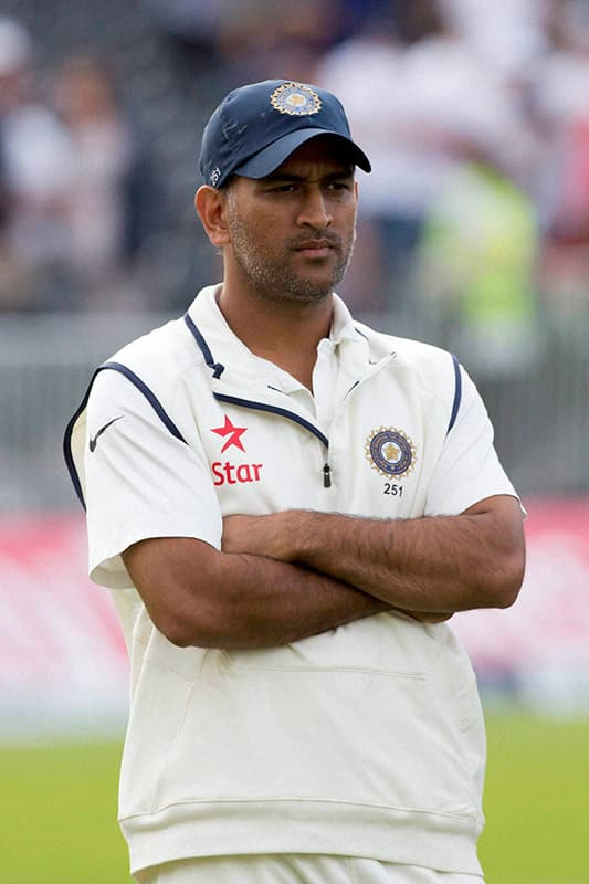 MS Dhoni's Test retirement