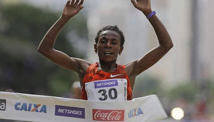 Ethiopian double in Sao Paulo year-end race