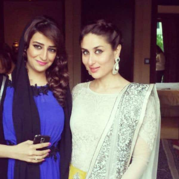 Kareena Kapoor Khan was clicked with Laila Al Meqbali ( Actress ) in Dubai  -twitter