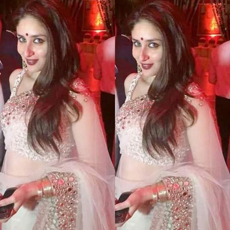 Kareena Kapoor Khan at Mallika Bhat's wedding ceremony. -twitter
