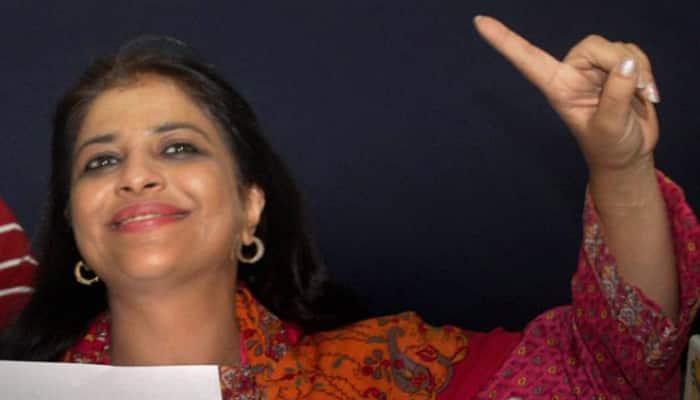 Shazia Ilmi denies contesting against Arvind Kejriwal in Delhi polls
