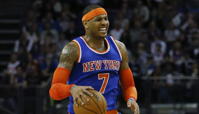Carmelo Anthony can`t stop New York Knicks` slide