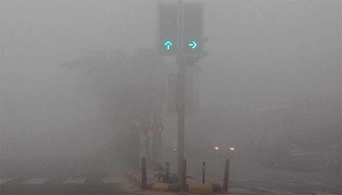 Delhi-NCR records season's dense fog, visibility drops to zero
