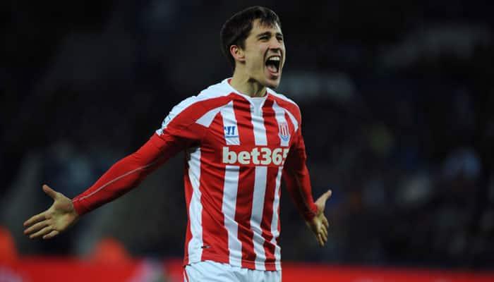 Bojan Krkic strike sees Stoke beat Leicester