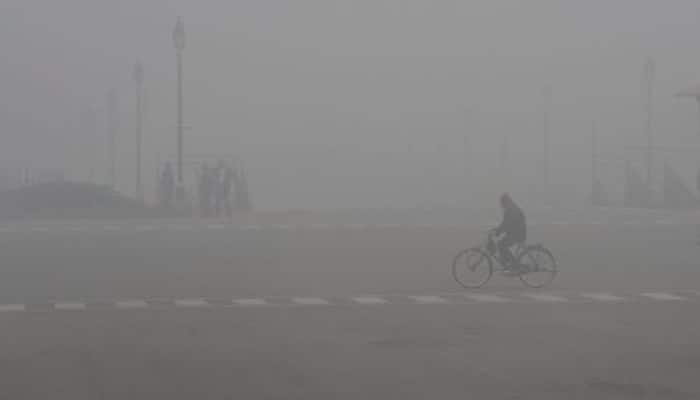 Cold morning greets Delhiites, fog affects flight and trains