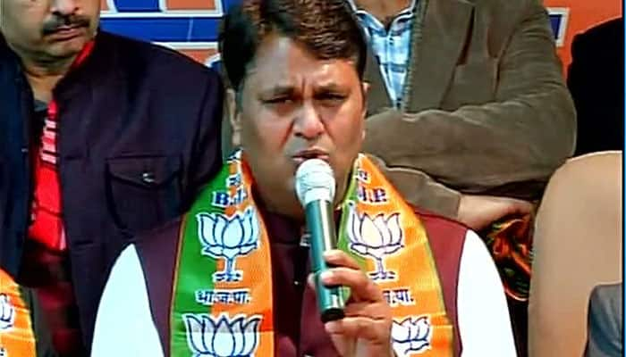 Expelled AAP MLA Vinod Kumar Binny officially joins BJP, slams Arvind Kejriwal