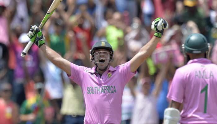 """Corey Anderson salutes AB de Villiers' """"hell of an innings"""""""