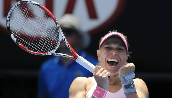 Rod Laver Arena is really imposing, says smiling Lucie Hradecka