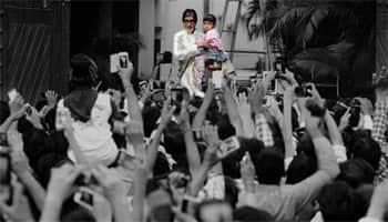 Amitabh Bachchan's fans left Aaradhya apprehensive