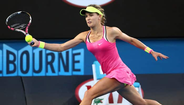 `Solid` Eugenie Bouchard looks to improve