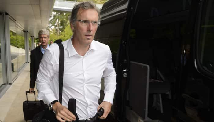 Laurent Blanc denies dressing room crisis in PSG