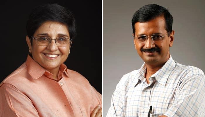 Battle for Delhi: It's 'Iron Woman' Kiran Bedi Vs 'I-Run Man' Arvind Kejriwal, says BJP