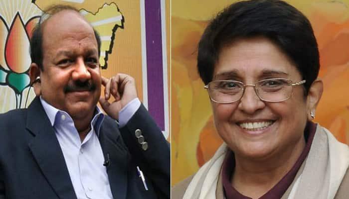 Had Harsh Vardhan been CM, nation would have witnessed progress: Kiran Bedi