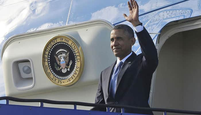 'Barack Obama may depart for US from Agra'