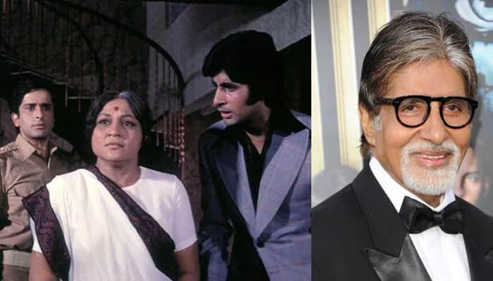 Nostalgia grips Amitabh Bachchan as 'Deewar' completes 40 years!