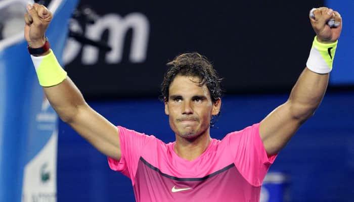 Rafael Nadal, Maria Sharapova survive big scares in Melbourne