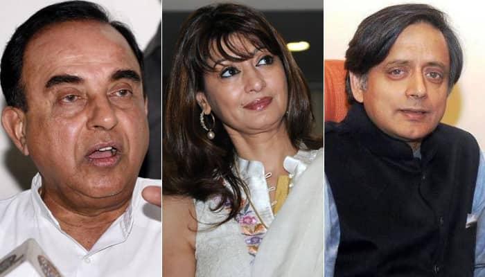 Subramanian Swamy tweets: Who did Sunanda Pushkar meet in Lutyen's Delhi on January 16, 2014?