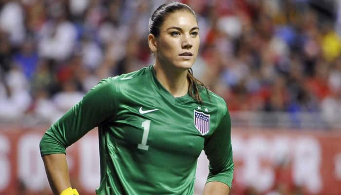 US keeper Hope Solo suspended after incident