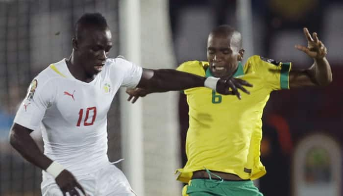 African Nations Cup: Senegal go top after comeback draw with South Africa