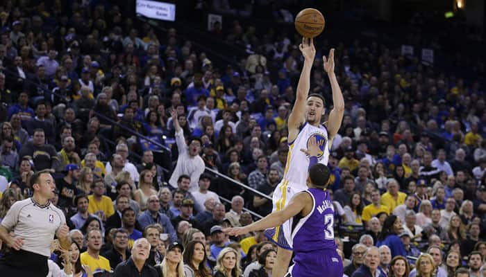 Klay Thompson sets record in Golden State Warriors blowout