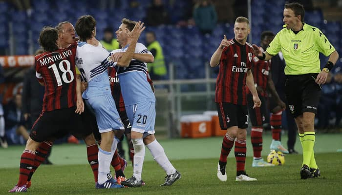 Black January for AC Milan as Philippe Mexes sees red mist