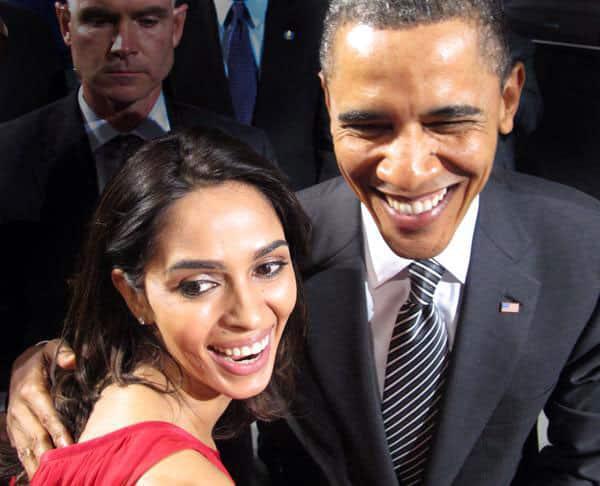 Mallika Sherawat :- Welcome President Obama:)#Obamavisit -twitter