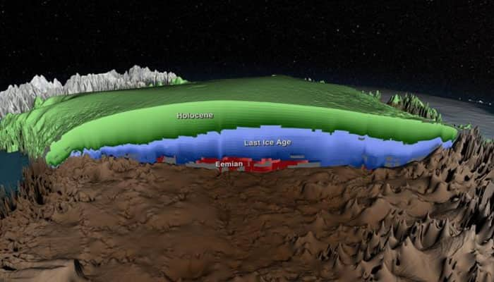 NASA releases 3D view of Greenland ice sheet