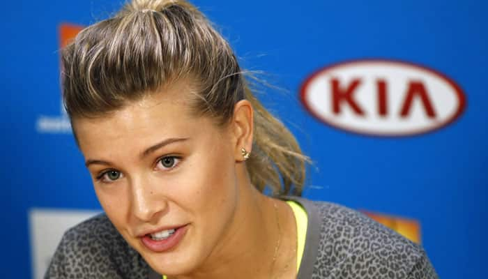 Maria Sharapova tells Eugenie​ Bouchard to be herself