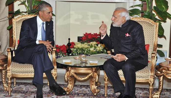 Here's what President Obama, PM Modi had for lunch