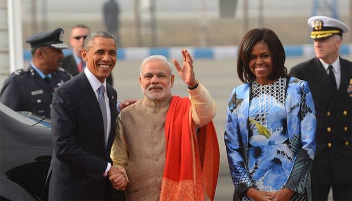 Gujarati kadhi, bhuna gosht boti for Obama working lunch