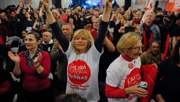Anti-austerity Syriza wins historic Greek election victory