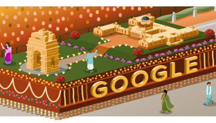 Google Doodle celebrates India's 66th Republic Day