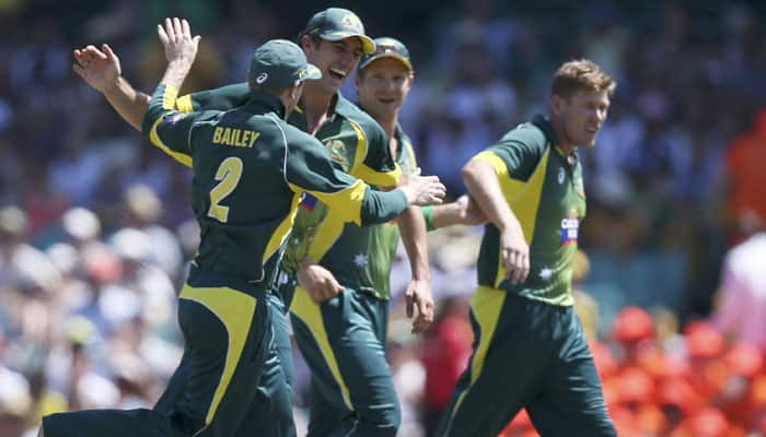 In-form Aussies chase fifth Cricket World Cup