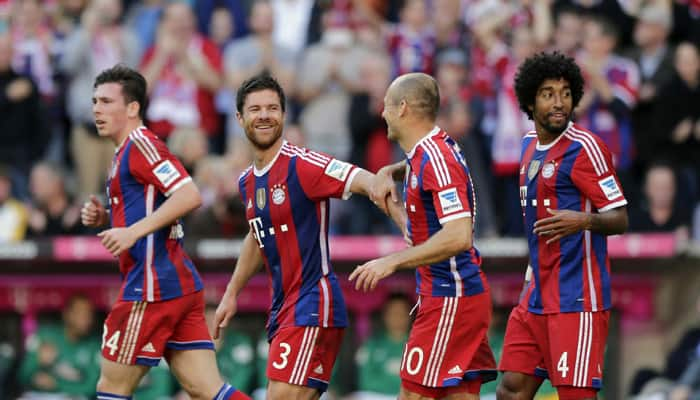 Bayern Munich`s German rivals wave white flag