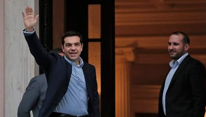 Greek leftist Alexis Tsipras sworn in as PM