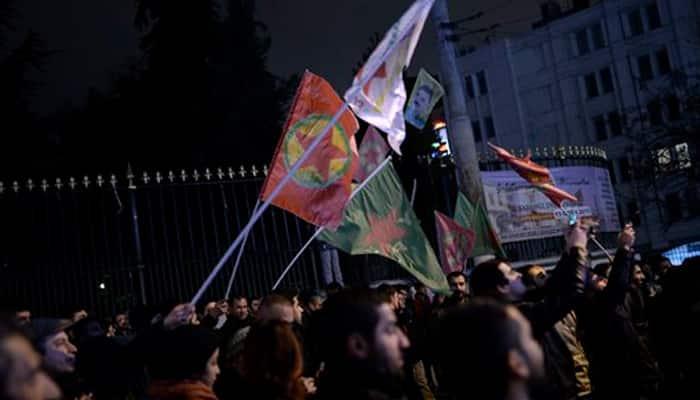 Kurdish forces control 90 percent of Syria`s Kobane: US
