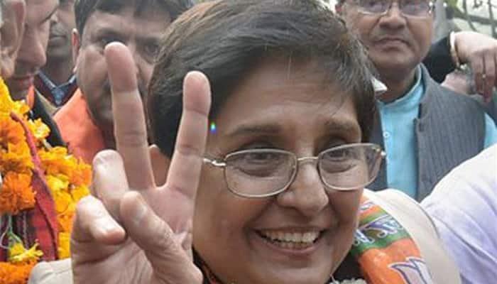 Kiran Bedi's poll promise: 'Will make Delhi a world class city'
