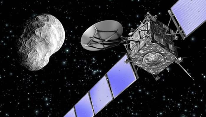 Rosetta provides unique insight into comet shedding its dusty coat